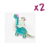 She-Rex Pin Bundle (Brontosaurus x 2) - My-Tee Girls
