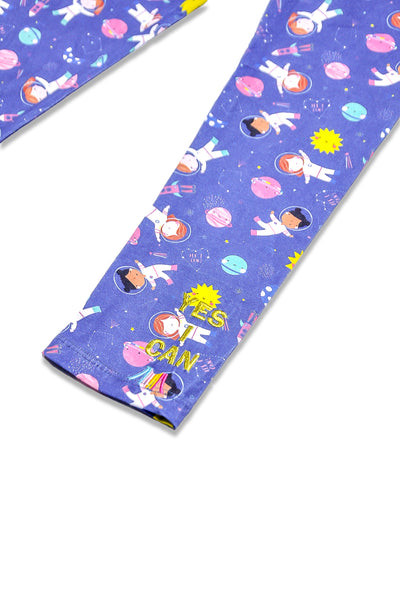 Astro Girl Leggings - My-Tee Girls