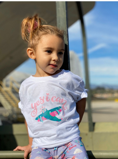 Fly-Girl T-Shirt - My-Tee Girls