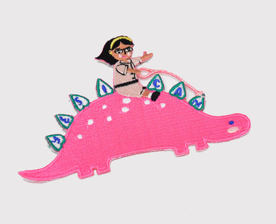 She-Rex Patch (Stegosaurus) - My-Tee Girls