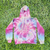 Pastel Neon Rainbow - Adult YIC Smiley Hoodie