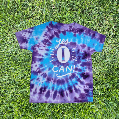 Yes I Can T-Shirts – Ltd Edition Tie-Dye - My-Tee Girls