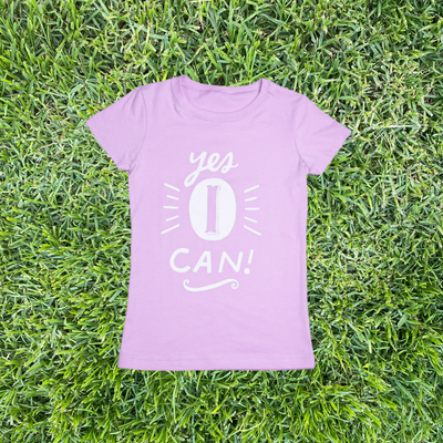 Yes I Can T-Shirt - My-Tee Girls