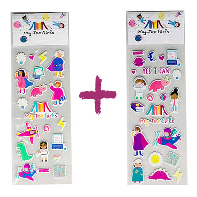 My-Tee Fun Stickers Bundle! (Set A + Set B) - My-Tee Girls