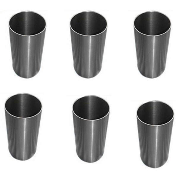 1 Set Cylinder Liner for Mitsubishi S6B-TA Engine Caterpillar CAT E650 Excavator