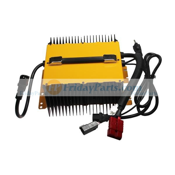 24 Volt 25A Battery Charger 0400236 1001133506 for JLG Towable Trailer Boom Lift T350 T500J