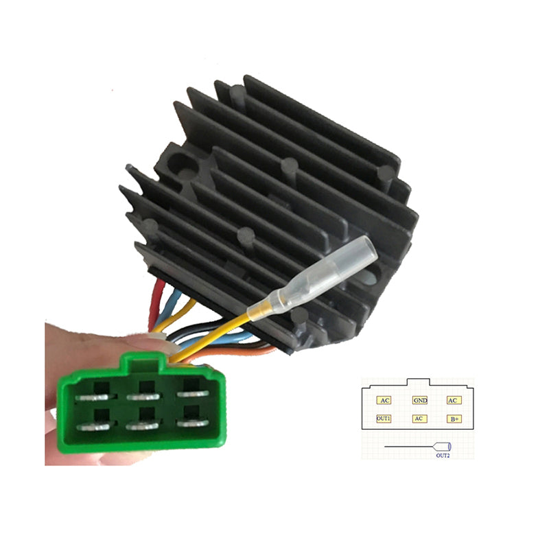 Deal 280W Regulator Rectifier 119653-77711 for Yanmar 3TNE74 Engine