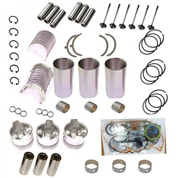 3TN84 3TNA84 3TNB84 Overhaul Rebuild Kit for Yanmar Engine YB281X Daewoo Kobelco Excavator YAG12S-3 Generator