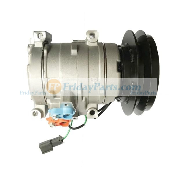 For John Deere Excavator 450CLC 600CLC 800C 450DLC 650DLC 850DLC Air Conditioning Compressor 4436025