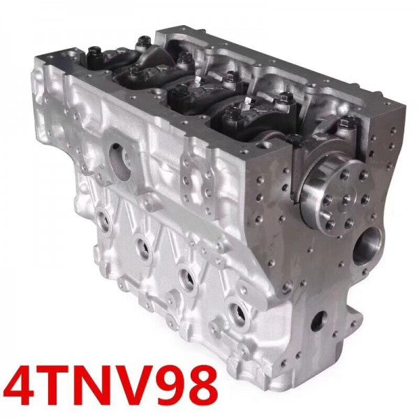 4TNV98 Engine Cylinder Block Assy 729907-01560 for Hitachi ZX60USB-3F ZX65USB-3F Doosan SOLAR 75-V