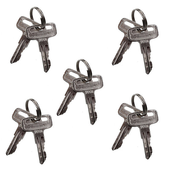 5 Pairs Ignition Keys 9901 2860030 for JLG Scissor Lift T350 600AJ 1532E2