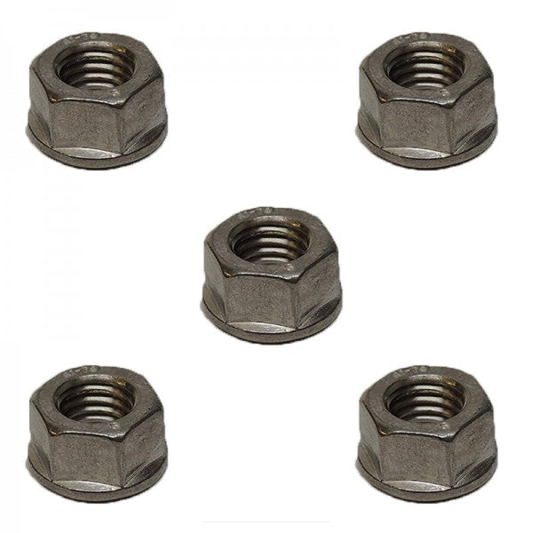 5 Pcs Stainless Steel Turbocharger Mounting Nut 3818824 for Cummins L10 M11 Engine in USA