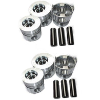 FP 6 Pcs Piston with Piston Pin for Komatsu S6D108 S6D108-1 Engine PC300-5 PC300-6 Excavator