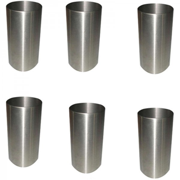 6 Pieces Cylinder Sleeve 5I 7523 for CAT Caterpillar 3066 Engine 311 312 313D 320 Excavator