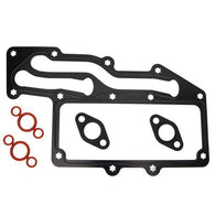 Oil cooler gasket & seal kit T414650 for Perkins 1104A-44 1104A-44T 1104A-44TA 1104C-44 1104C-44T 1104C-44TA 1104C-E44T 1104C-E44TA 1104D-44 1104D-44T 1104D-44TA