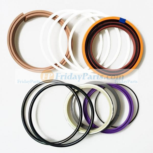 For Fiat-Hitachi Excavator FH200-1 FH200-2 FH220-1 FH220-2 Boom Arm Bucket Var Cylinder Seal Kit 71400161