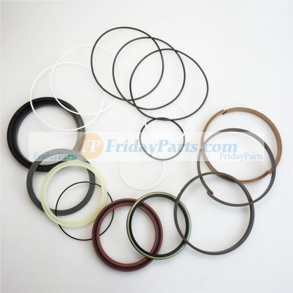 For Fiat-Hitachi Excavator FH150-1 FH150-1W FH150-2 FH200-1 FH200-2 Boom Arm Var Cylinder Seal Kit 71400199 71400202