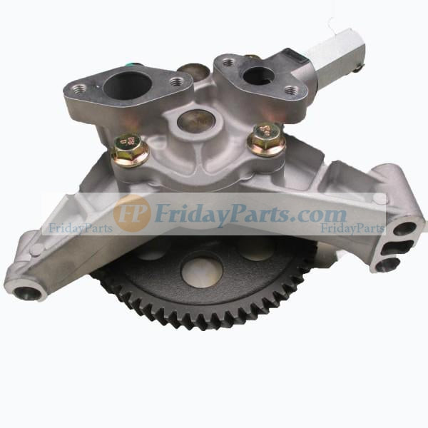 For Kobelco Excavator SK330-6E SK320-6 SK350-6 Mitsubishi Engine 6D16 Oil Pump ME074345