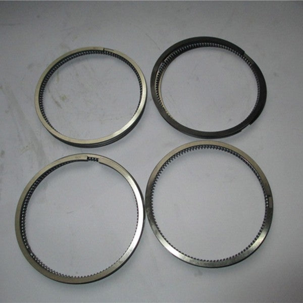 For Yanmar Engine 4TNE92 Komatsu Engine 4D92E Piston Ring 4 Units 1 Set