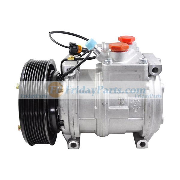Denso 10PA17C 447100-2381 447100-2388 447200-3084 447200-3667 Air Conditioning Compressor John Deree Tractor