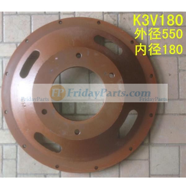 For Excavator Hydraulic Pump K3V180 Disk Damper Connection Plate