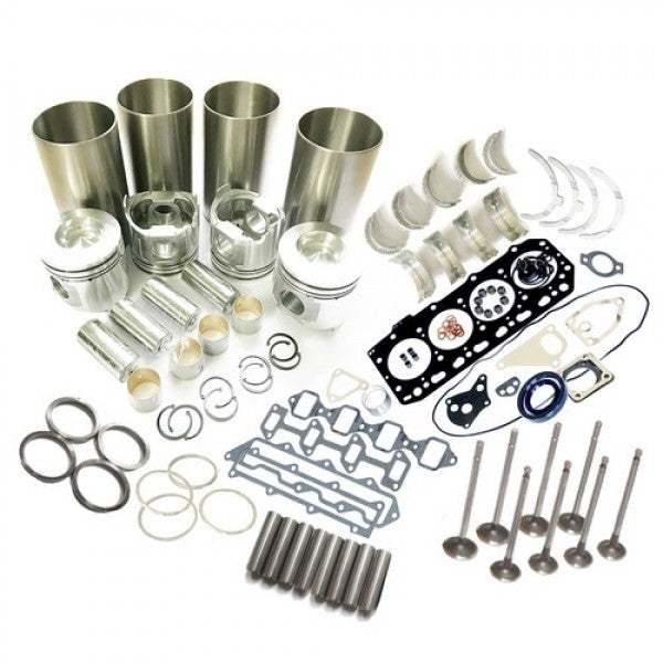 Kubota V1702 V1702B Engine Overhaul Rebuild Kit for KH90 Bobcat 743 733