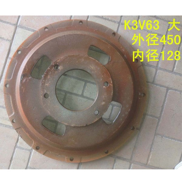 For Excavator Hydraulic Pump K3V63 Enlarged Thicken Disk Damper Connection Plate