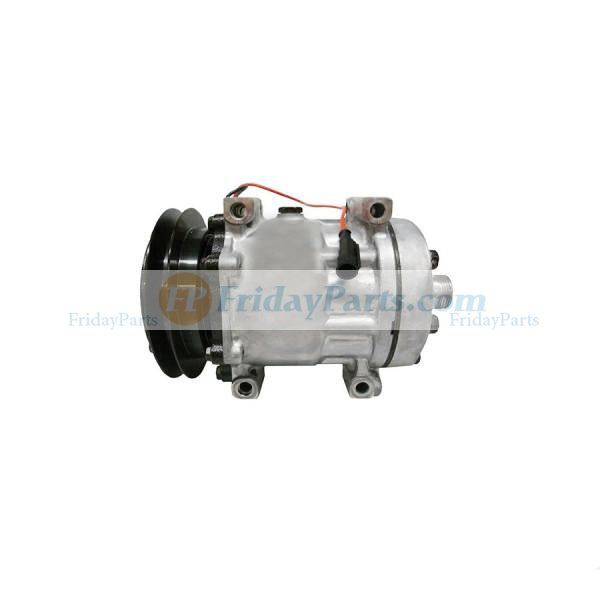 For Case Backhoe Loader 580N 580SN 590SN 580SN WT Air Conditioning Compressor 84159489