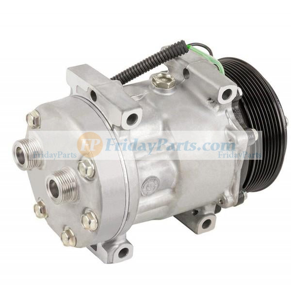 For Case Wheel Loader 821E 821F 821G 921F 921G Air Conditioning Compressor 8500795