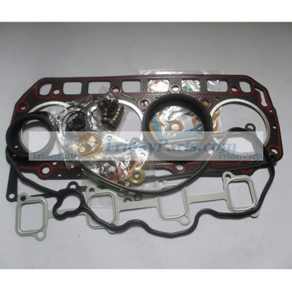 For Doosan Crawler Excavator DX60R Yanmar 4TNV98 Engine Overhaul Gasket Kit Without Cylinder Head Gasket