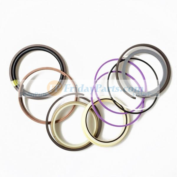 For Fiat-Hitachi Excavator FH130-3 FH150-3 FH200-3 Boom Arm Bucket Var Cylinder Seal Kit 71445694 71447625