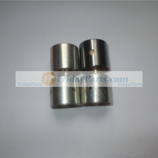 For Komatsu Backhoe WB140-2 WB150-2 WB91R-2 Yanmar Engine 4TNE106D Komatsu Engine 4D106D Piston Pin Bush 4 Units 1 Set