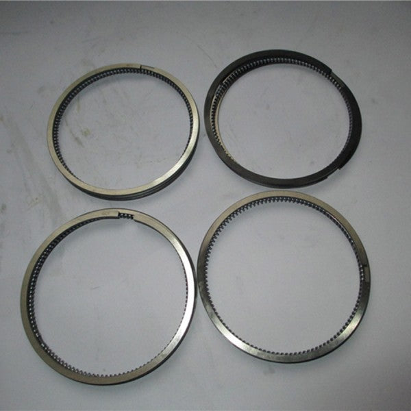 For Komatsu Crawler Tractor D20A-8 D20P-8 D20P-8 D21P-8 Yanmar Engine 4TNV94L Komatsu Engine 4D94LE Piston Ring 4 Units 1 Set