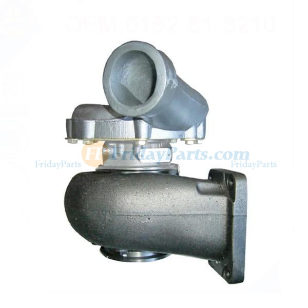For Komatsu Excavator PC400-3 PC400LC-3 Engine S6D125-1T Turbo TV7705 Turbocharger 6152-81-8500