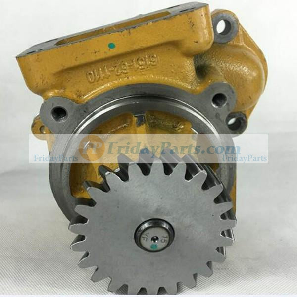 For Komatsu EG300BS-5 GD605A-5 GH320-2 HD255-5 LW250-5H PW400MH-6 WF450-3 Water Pump 6151-62-1102 for Engine 6D125