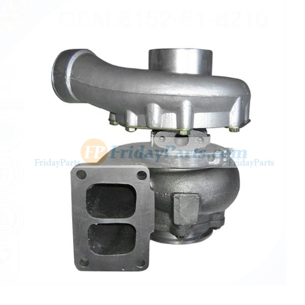 For Komatsu Wheel Loader WA450-1 WA470-1 WA450-3 WA470-3 Engine S6D125-1 Turbo TA4532 Turbocharger 6152-81-8310