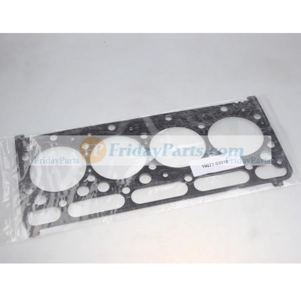 For Kubota Excavator KX1212 KX1612 Head Gasket 19077-03310