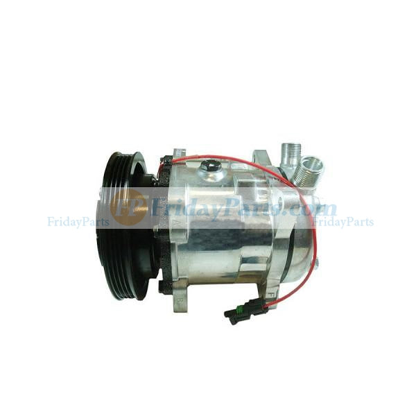 For New Holland Compact Track Loader C227 C232 C238 Air Conditioning Compressor 84321961 47741862