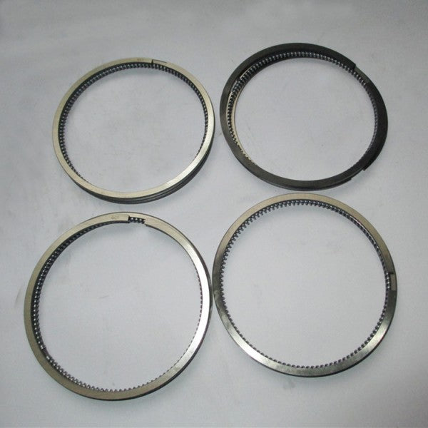 For Yanmar Engine 4D84-3 Piston Ring 4 Units 1 Set