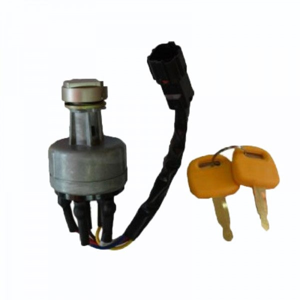 Ignition Switch With Keys 21E610430 for Hyundai HL740-3ATM HL780-3A R140LC-7 R160LC-3 R210LC-7 R290LC-7 R360LC-7 R450LC-7 R95W-3