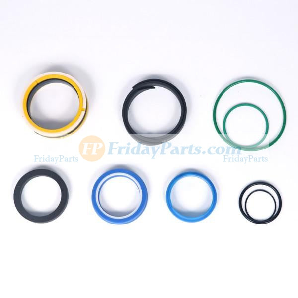 For JCB Backhoe Loader 3D 4C 4CN 530B-4HL Boom Swing Lift Extend Cylinder Seal Kit 991/00014
