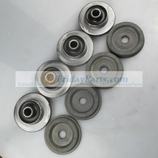 For Kobelco Excavator SK120-5.5 Engine Mounting Rubber Cushion Feet Bumper