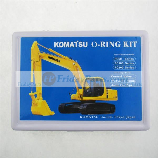 For KOMATSU Boxed Seal O-ring Box Updated Version