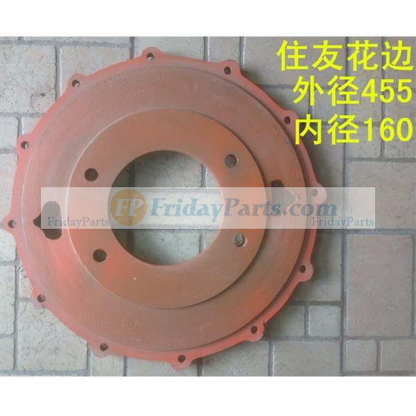 For Sumitomo Excavator SH280 Hydraulic Pump Lacy Disk Damper Connection Plate
