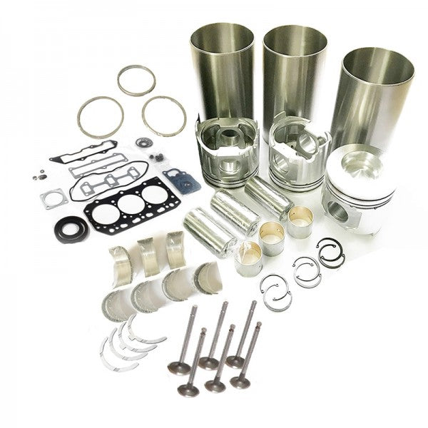 Overhaul Rebuild Kit for Isuzu 3KR1 3KR1-EA14 Engine Mini-Excavator and Skid Steer Loader