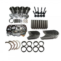 Overhaul Rebuild Kit for Isuzu 4BG1TAB Engine JCB Excavator JS130EX Link Belt 160lX