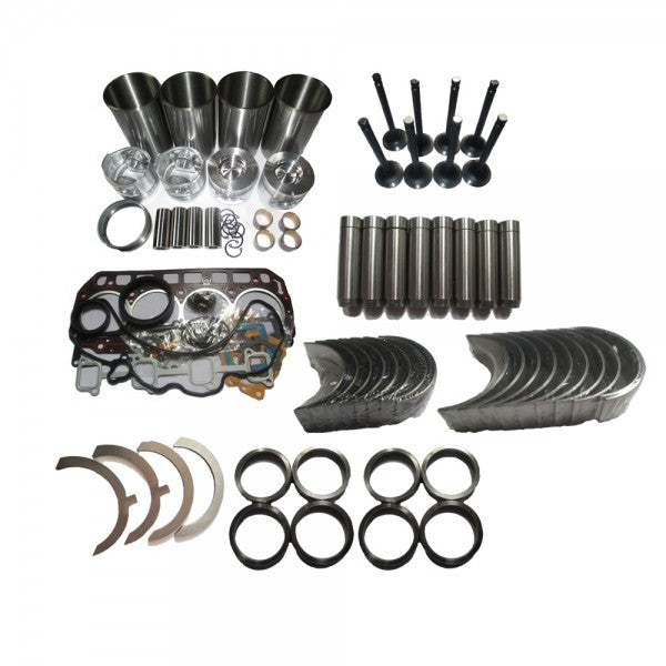 Overhaul Rebuild Kit for Kubota V1902 Engine New Holland L555 L553 Skid Steer Loader