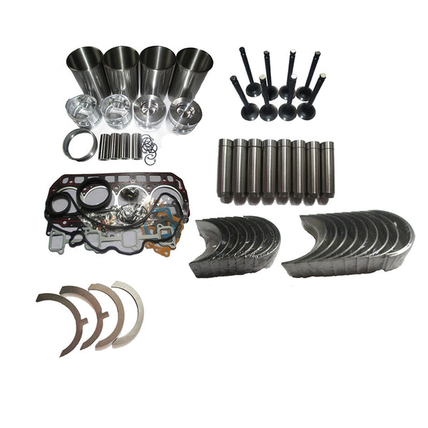 Overhaul Rebuild Kit Mitsubishi K4D Engine Caterpillar CAT MS04M MS030 Excavator
