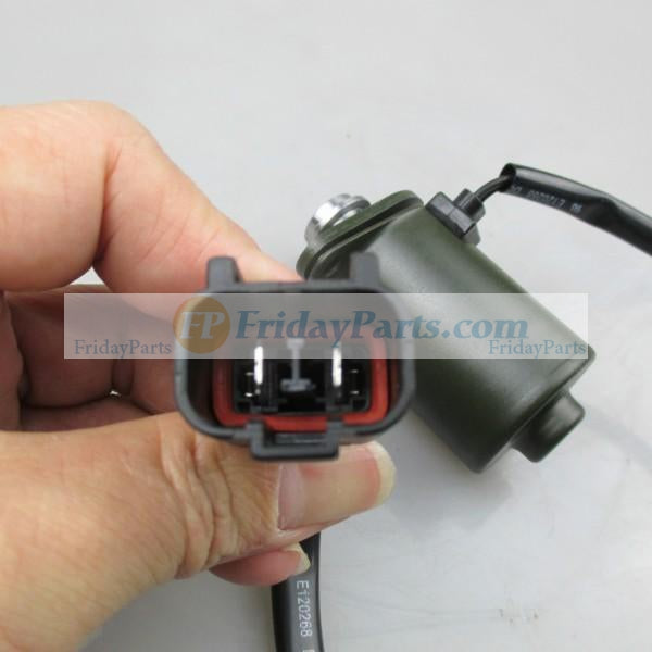 For Komatsu Excavator PC56-7 Engine 6D102 Solenoid Valve 206-60-51130 206-60-51131 206-605-1132