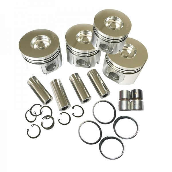 Piston Kit With Ring for Isuzu 4JG2 4JG2T Engine Hyster Forklift Bighorn Pickup Truck
